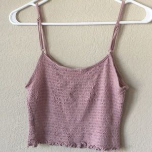 Hearts and hip crop top